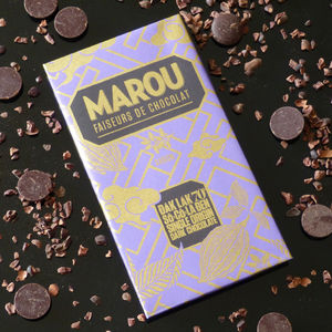 70% Dark Chocolate Dak Lak Single Origin Bar - new in food & drink