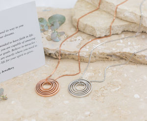 Circles Of Love Synergy Necklace