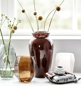 Asymmetrical Vase - flowers, plants & vases