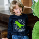 Personalised Dinosaur Kids Sweatshirt