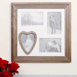 Vintage Country Wooden Multi Photo Frame Display - children's pictures & prints