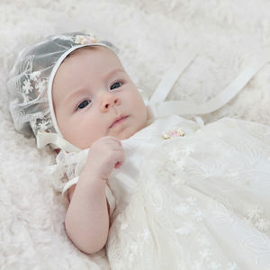 Christening Gown 'Kate' - summer sale