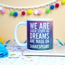 Shakespeare Quote Mug