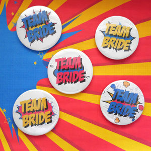 Team Bride Hen Party Badge - hen party ideas