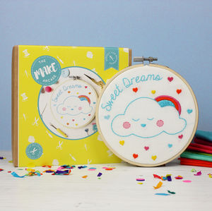 Sweet Dreams Embroidery Craft Kit