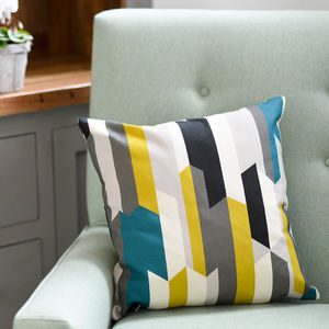 Scandinavian Rand Cushion - patterned cushions