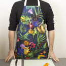 Tropical Animal Cooking And Baking Kitchen Apron Gift
