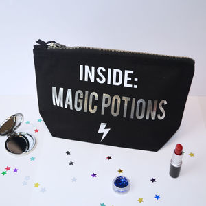 Magic Potions Make Up Bag - make-up bags