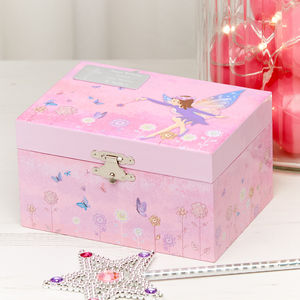 Fairy Musical Keepsake Box - jewellery boxes & storage