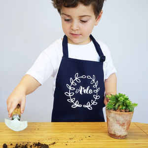 Personalised Kids My Gardening Apron - kitchen