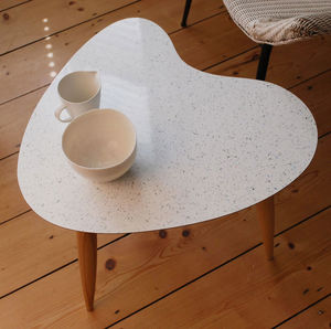 Sparkled Top Petal Table - side tables