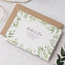 Willow Watercolour Wedding Invitation