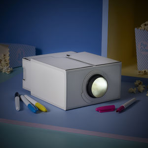 White Smartphone Projector - gadgets & cases