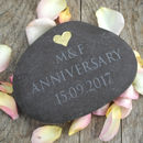 Engraved Message Pebble