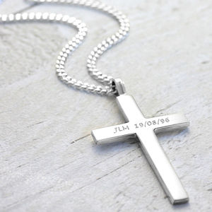 Big Solid Silver Cross - necklaces & pendants