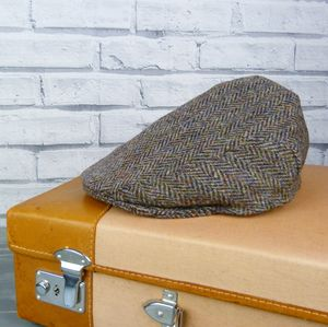 Harris Tweed Flat Cap - hats