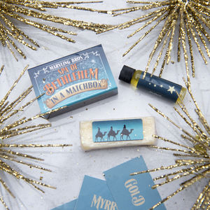 Gold, Frankincense And Myrrh Spa In A Matchbox - gift sets