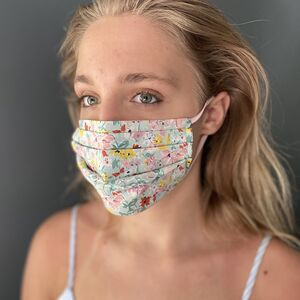 Washable Face Mask Soft Liberty Print Cotton