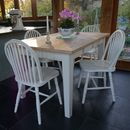 Fonthill Table With Hoop Back Chairs Hand Painted
