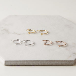 Tiny Heart Ring Set - new in jewellery
