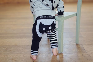 Crazy Cat Leggings - new in baby & child