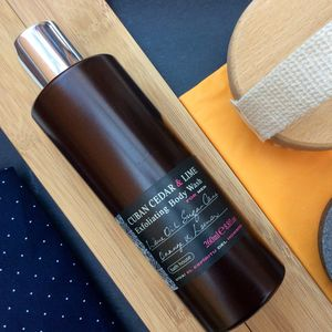Cuban Cedar And Lime Exfoliating Body Wash - men's grooming