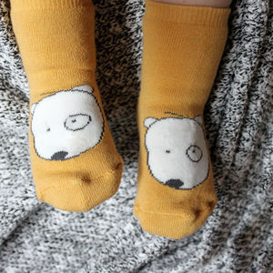 Patch The Dog Kiddo Socks