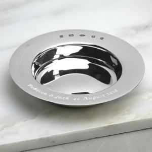Personalised Silver Armada Dish - decorative accessories