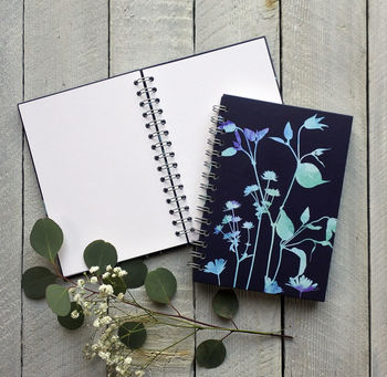 Clematis Spiral Bound Journal/Sketch Book