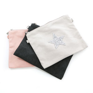 Canvas Glitzy Star Bag - cross-body bags