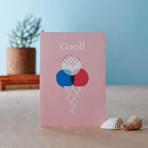 'Cool' Greetings Card
