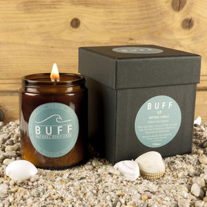 Buff Up Boxed Natural Candle Spring Offer Free Delivery