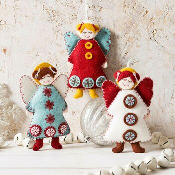 Scandinavian Angels Felt Craft Kit