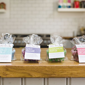 Mini Alcoholic Fruit Cake Collection - gifts to eat & drink