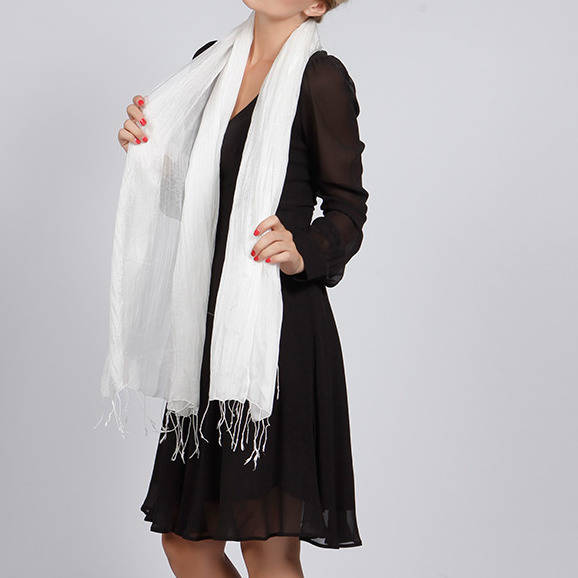 388f15b4313 bianca sheer silk chiffon scarf in selection of colours by the silk ...