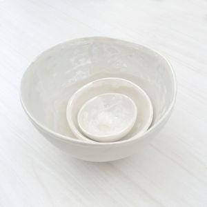 Pearl Decorative Nesting Bowls - kitchen