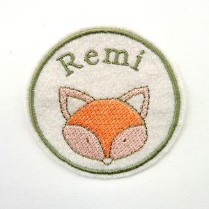 Custom Embroidered Patch 'Fox'
