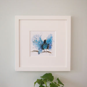 Blue Bird Of Paradise Print - what's new