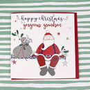 Grandson Christmas Greetings Card
