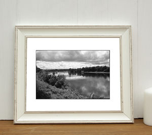 Bank Of The Vienne, Chinon Photographic Art Print