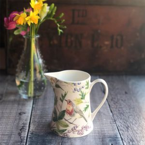 Wild Bird Ceramic Serving Jug - sugar bowls & cream jugs
