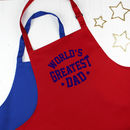 World's Greatest Dad Father's Day Men's Apron