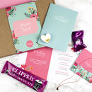 Personalised 'Pretty' Birthday Letterbox Gift Box