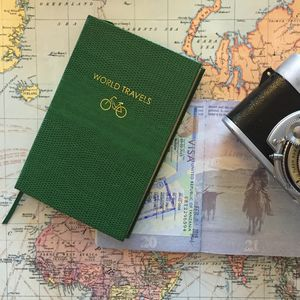 World Travels Pocket Notebook - frequent traveller