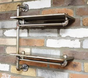 Reclaimed Factory Pipe Shelfie