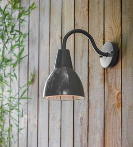 'Blackened' Outdoor Light