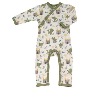 Fairy Tale Dragon Baby Romper - outfits & sets