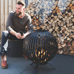 Cast Iron Fire Bowl