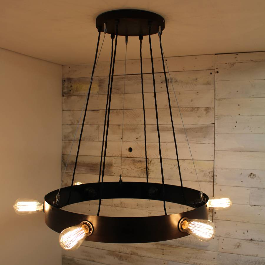 pin edison globes lamps steampunk and light globe chandelier