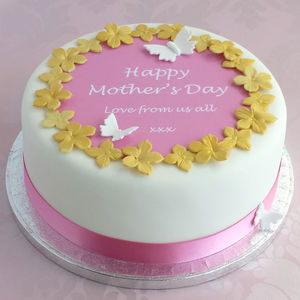 Personalised Mother's Day Cake Decoration Kit